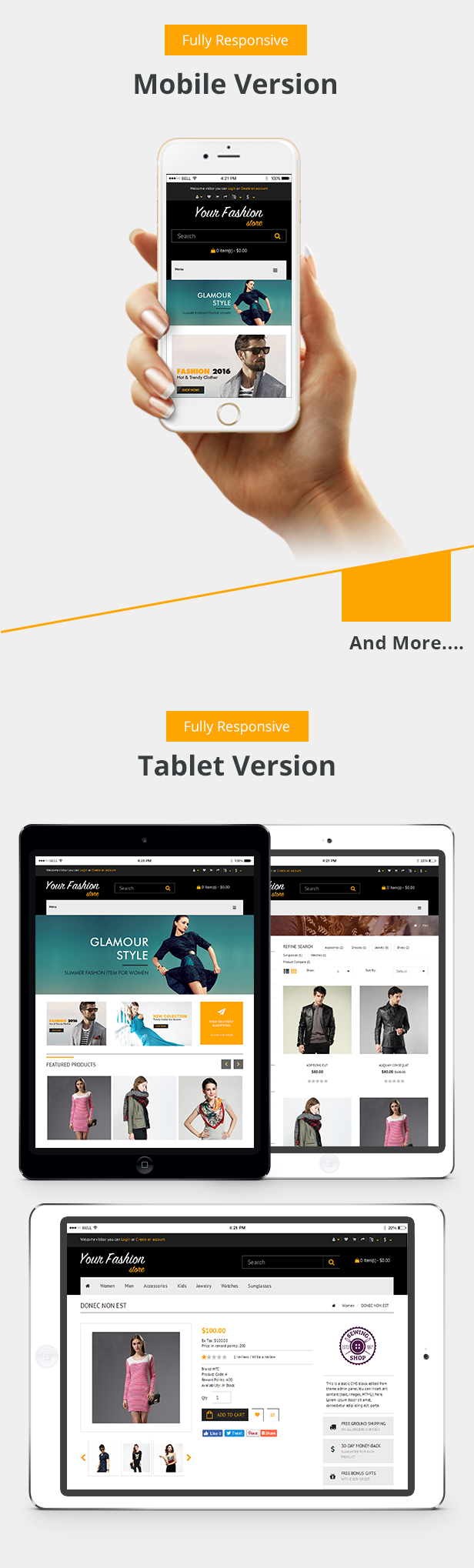 Responsive Theme Preview